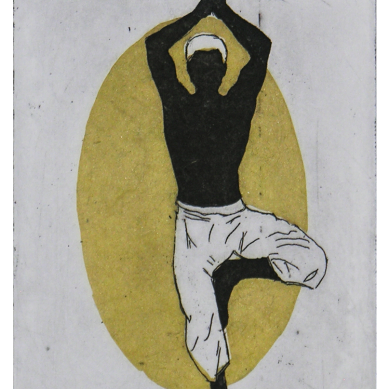 Vṛkṣāsana   Tree Pose