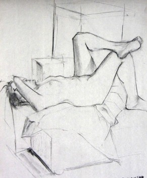 SLEEPING FEMALE FIGURE 1