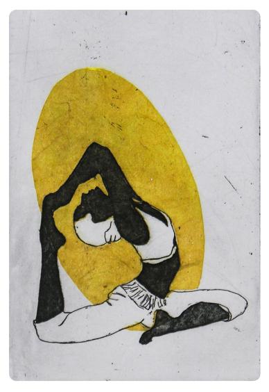 Eka Pāda Rājakapotāsana   Pigeon Pose