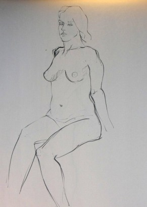CONTOUR DRAWING 1