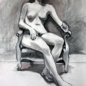 SEATED FIGURE 10