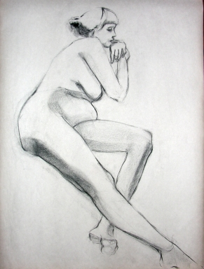 SEATED FIGURE 5