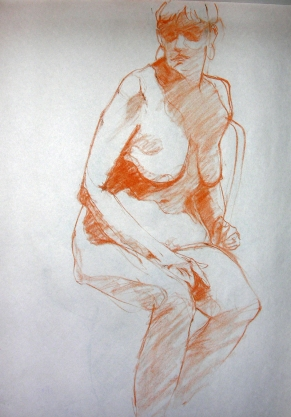 SEATED FIGURE 7