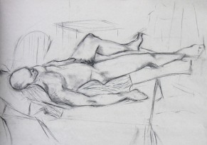 SLEEPING MALE FIGURE