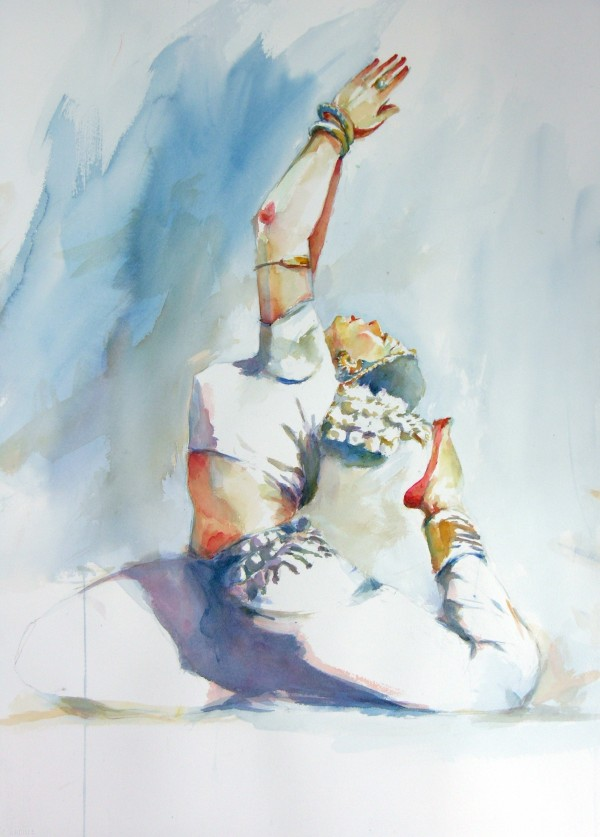 Indian Classical Dance Pose 1 22 X 30 The Artist