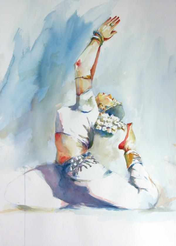 Kathak Dance Drawing May 16 2011