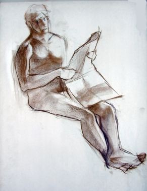 SEATED MALE FIGURE 6