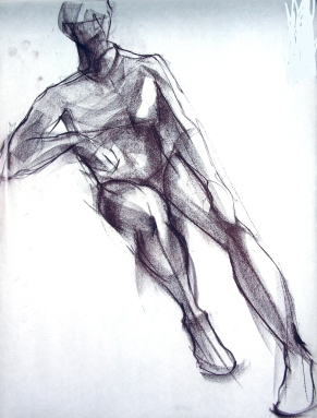 SEATED MALE FIGURE 3