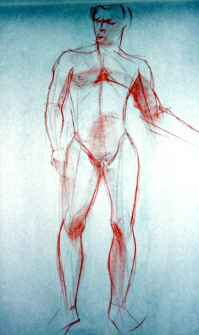 STANDING MALE FIGURE 1