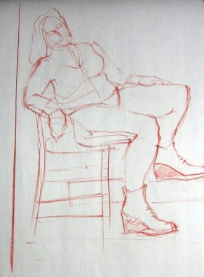 SEATED FIGURE 14