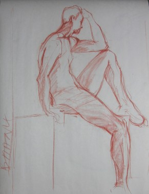 SEATED FIGURE 12