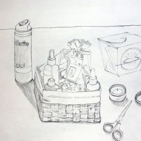 Study - Bath Basket