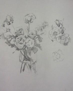 Study - Roses 3