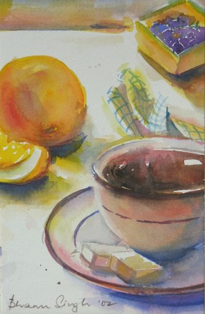 Tea & Oranges
