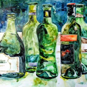 Wine Bottles Study